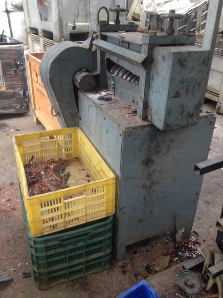 Machinery used wire stripper